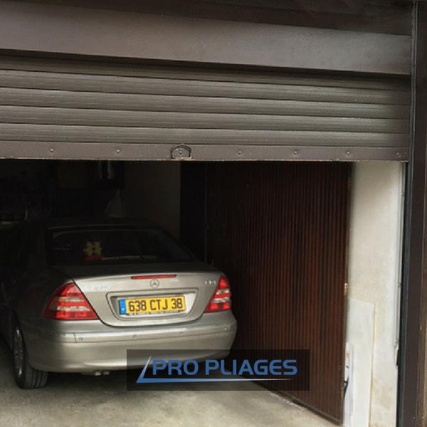 propliages- réalisations-habillage finition porte de garage